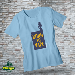 "Camiseta ""Born to vape"""