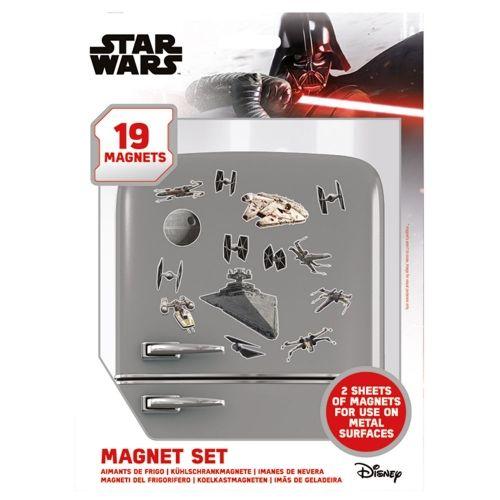 Set de imanes Star Wars...