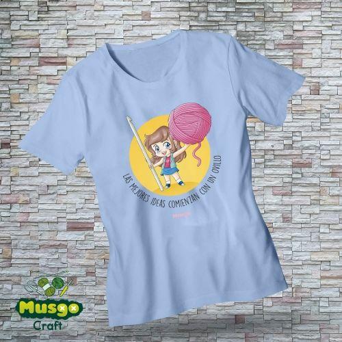 """Camiseta """"Las mejores ideas..."""