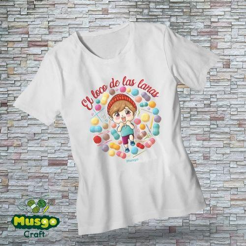 """Camiseta """"El loco de las..."""