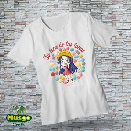 "Camiseta ""La loca de las..."