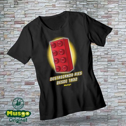 """Camiseta """"Destrozando pies..."""