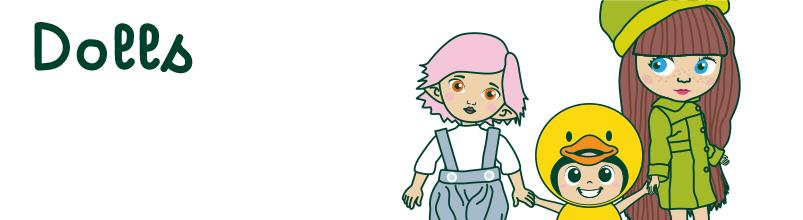 Tazas - Musgo Dolls