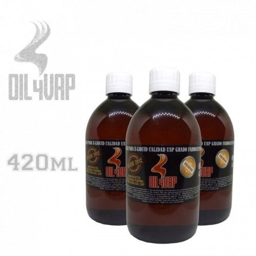 Base 420ml Oil4Vap -varias...